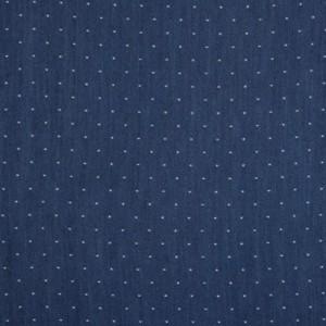Blue Polka Dotted Tencel Denim