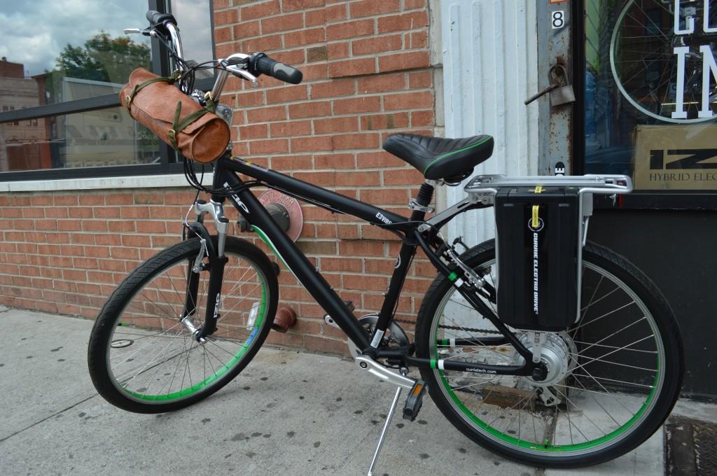 Embossed Vinyl Bike Satchel