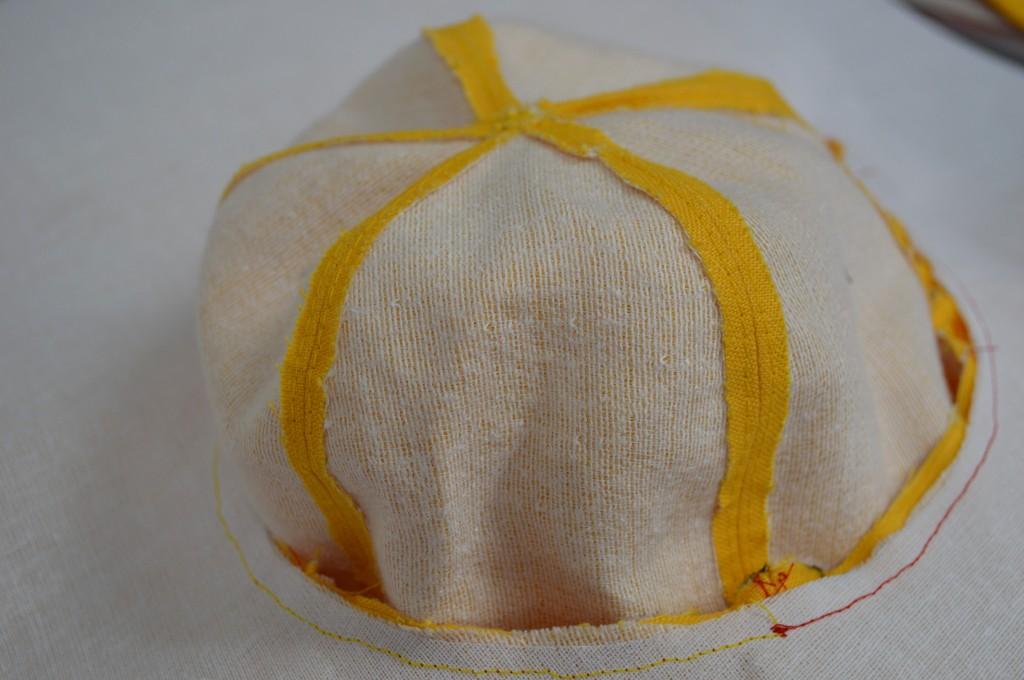 sewing diy sun hat