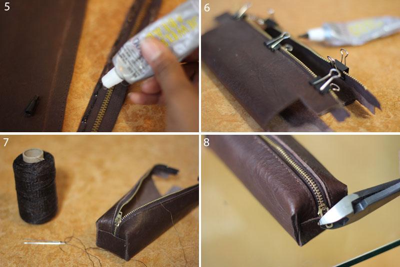 Leather Pencil Case4