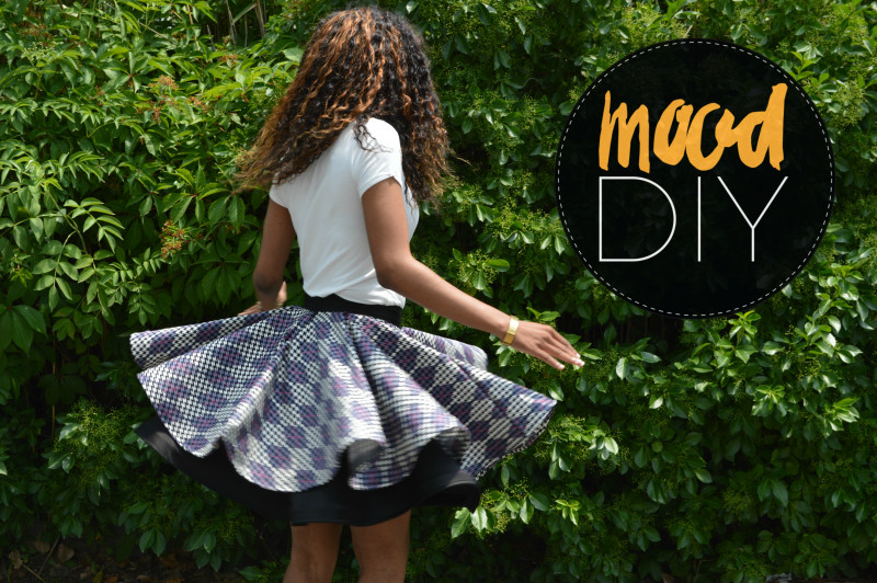 Diy circle skirt no sew