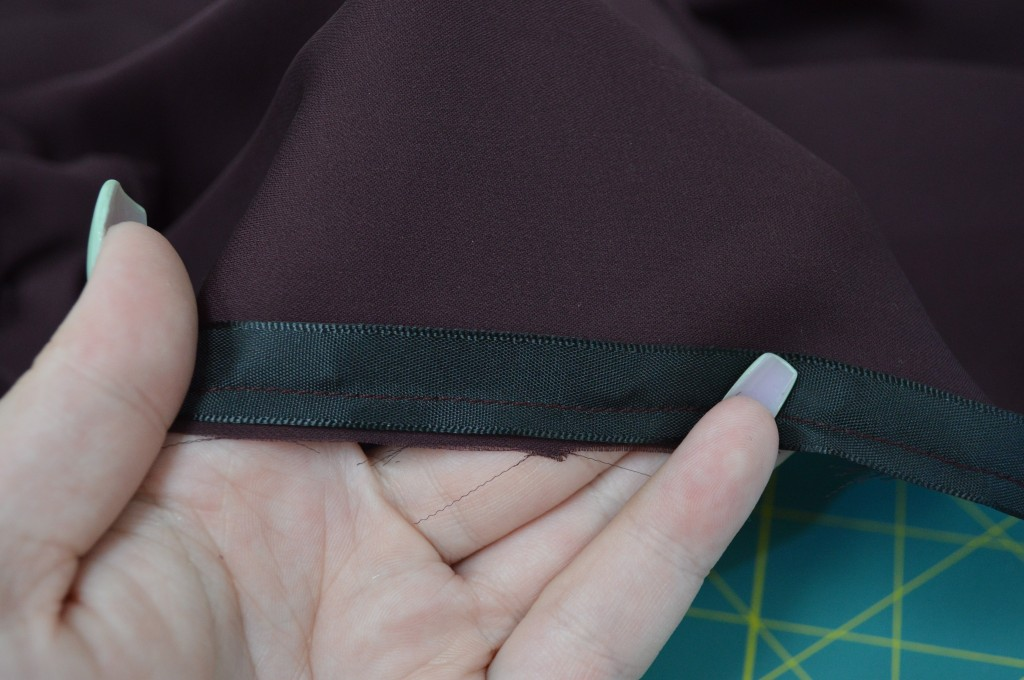 silk ribbon shirt sewing fashion