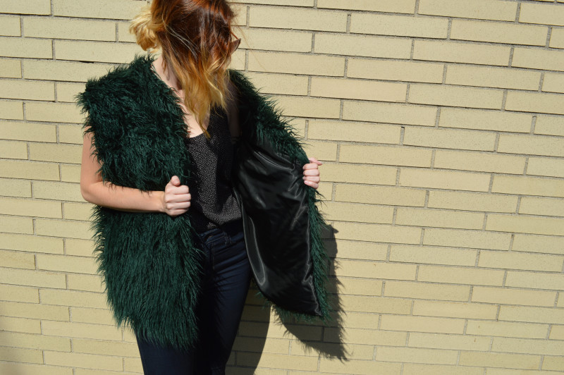 Mood Diy How To Sew An Easy Faux Fur Vest Mood Sewciety
