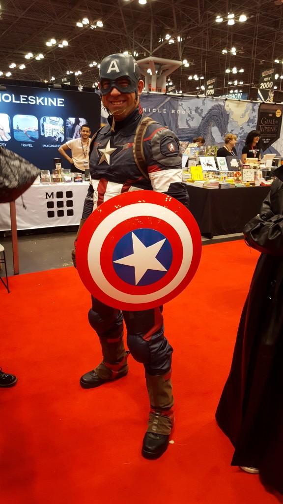 captain america cosplay nycc