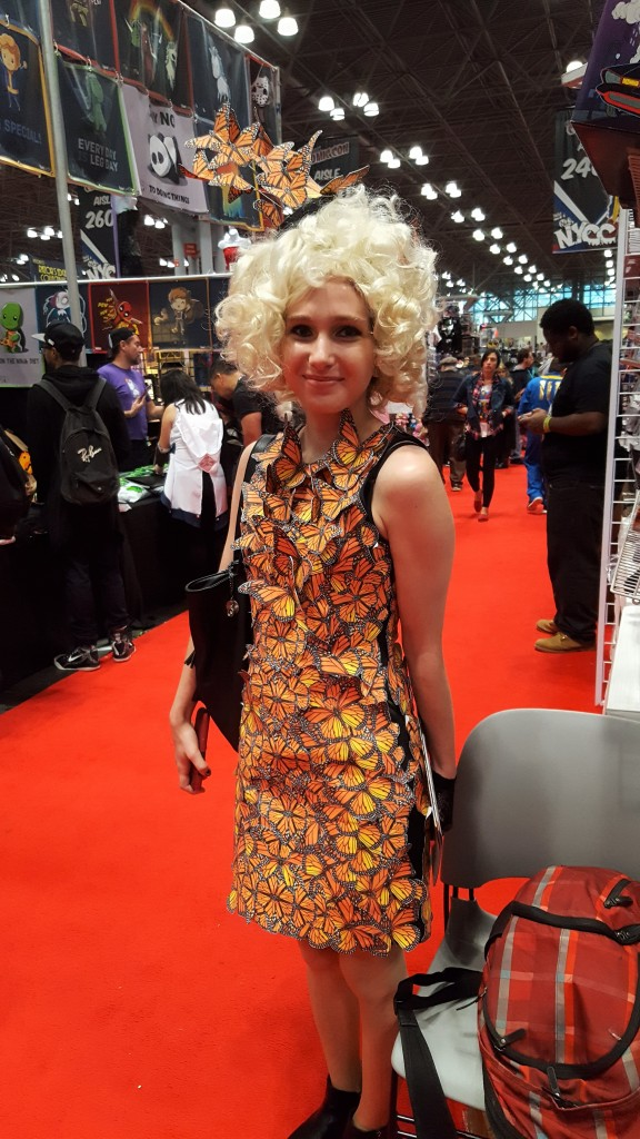 effie hunger games cosplay nycc