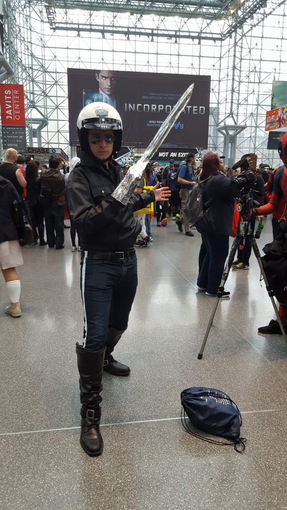 terminator 2 cosplay nycc