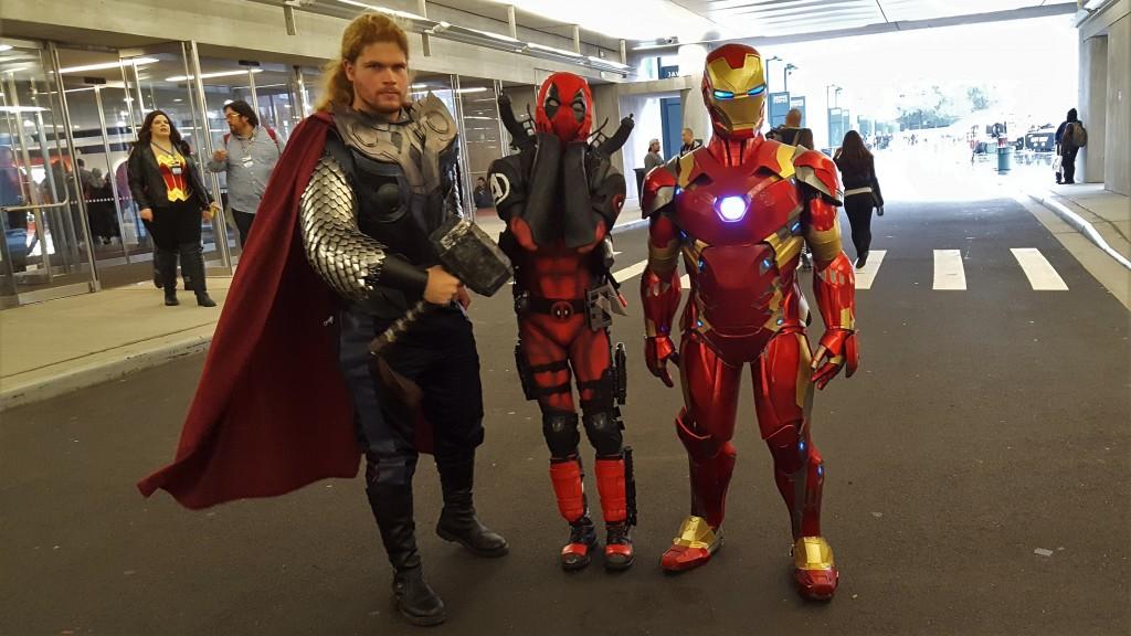 avengers thor iron man deadpool marvel cosplay nycc