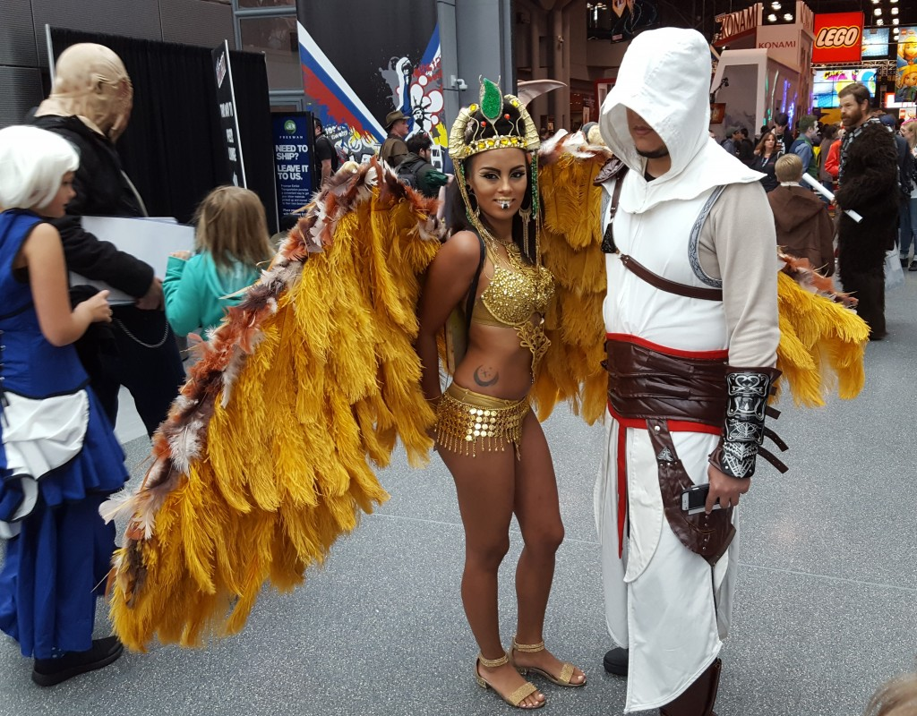 assassin's creed cosplay nycc