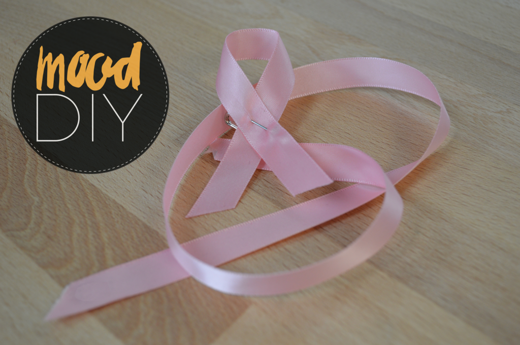 Breast Cancer Awareness Bracelet Pink Ribbon Pin for Pink October