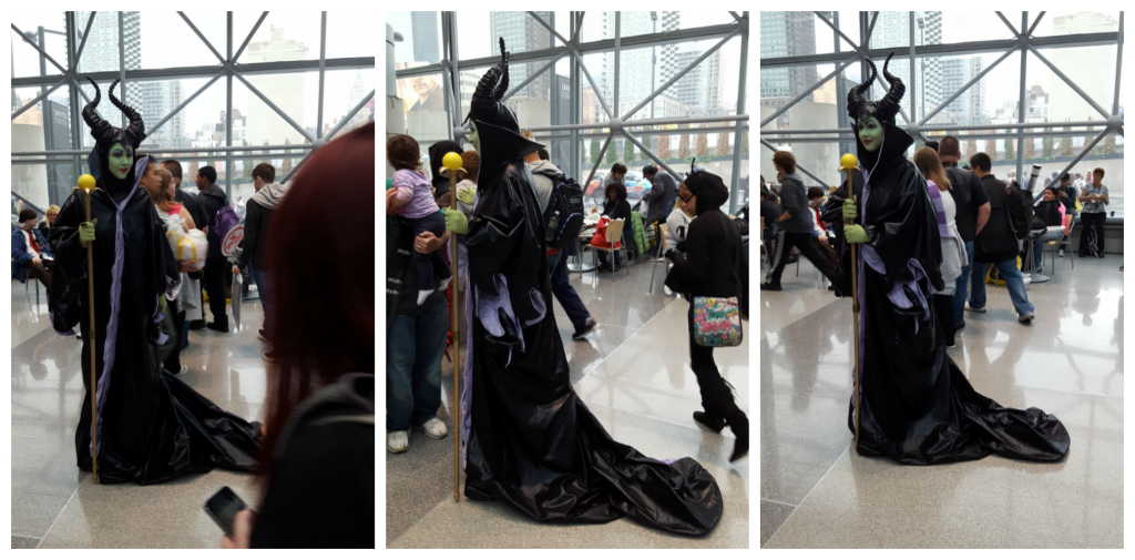Maleficent cosplay nycc