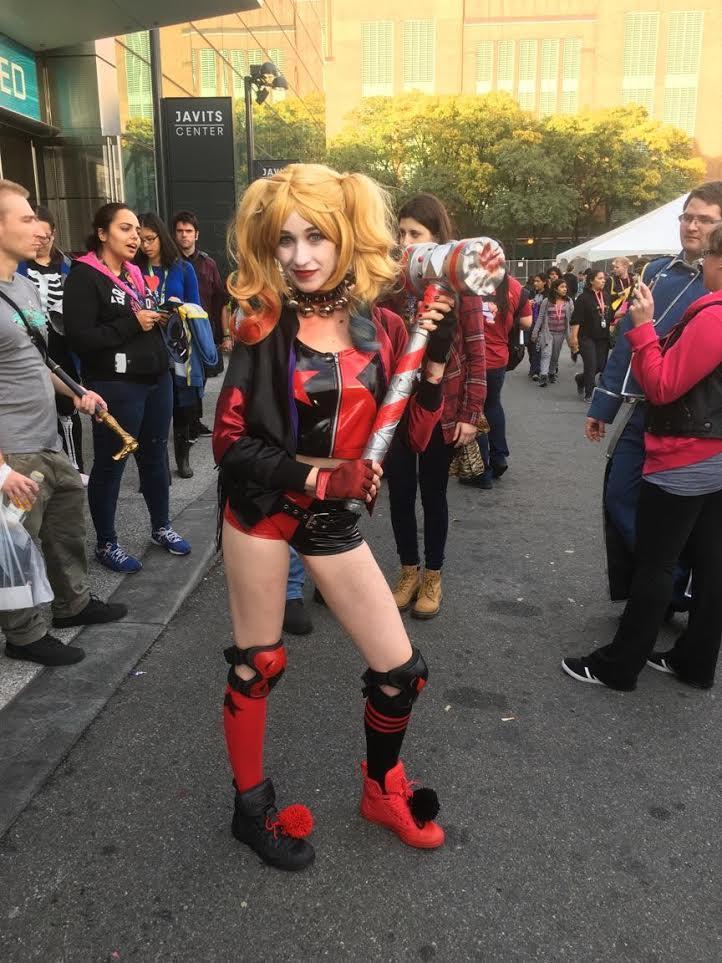 harley quinn cosplay nycc