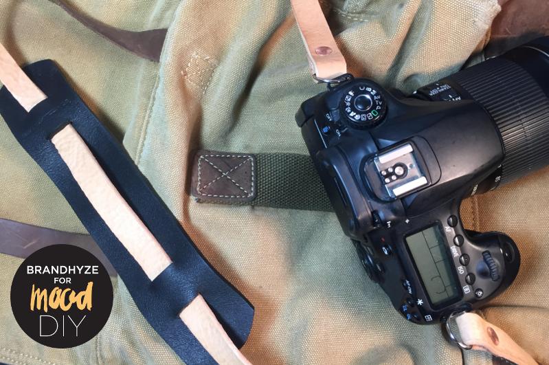 2 Tone Leather Camera Strap5