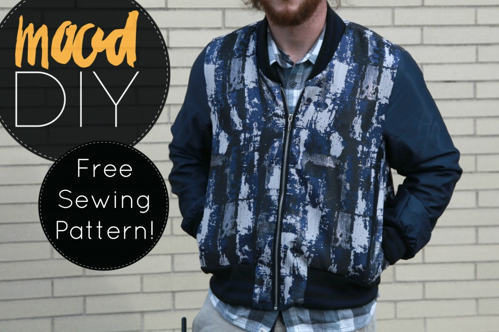 Free Reversible Bomber Jacket Sewing Pattern
