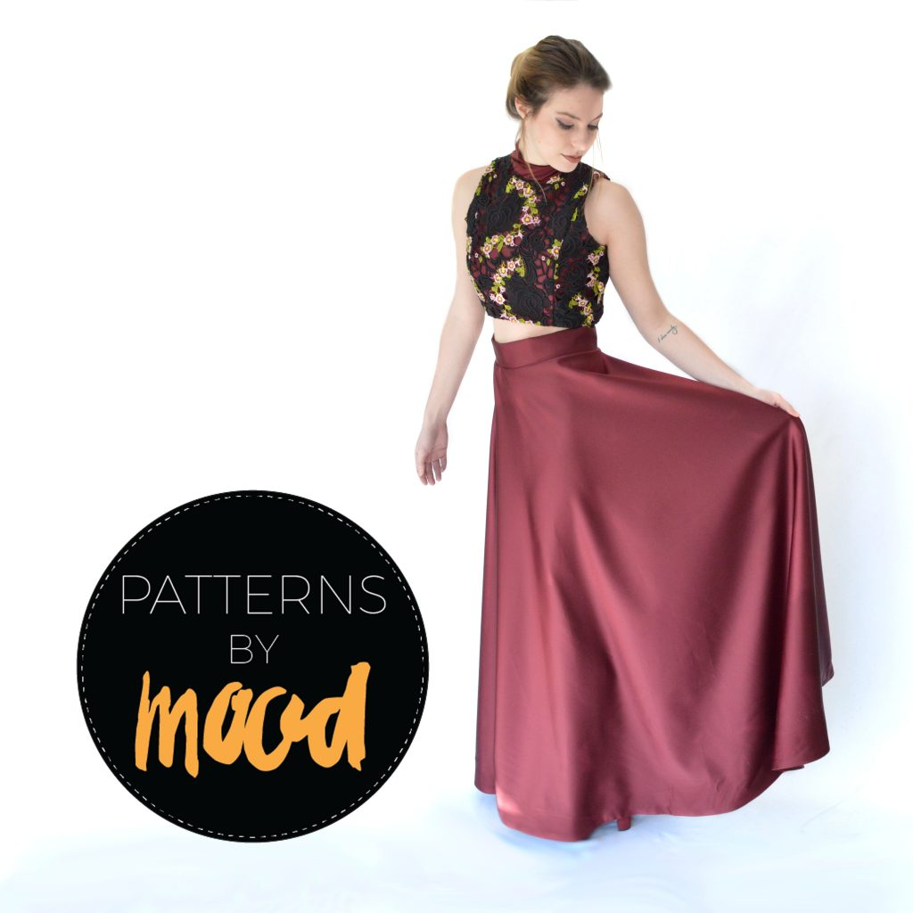 Mood Diy Free Two Piece Prom Dress Pattern Mood Sewciety