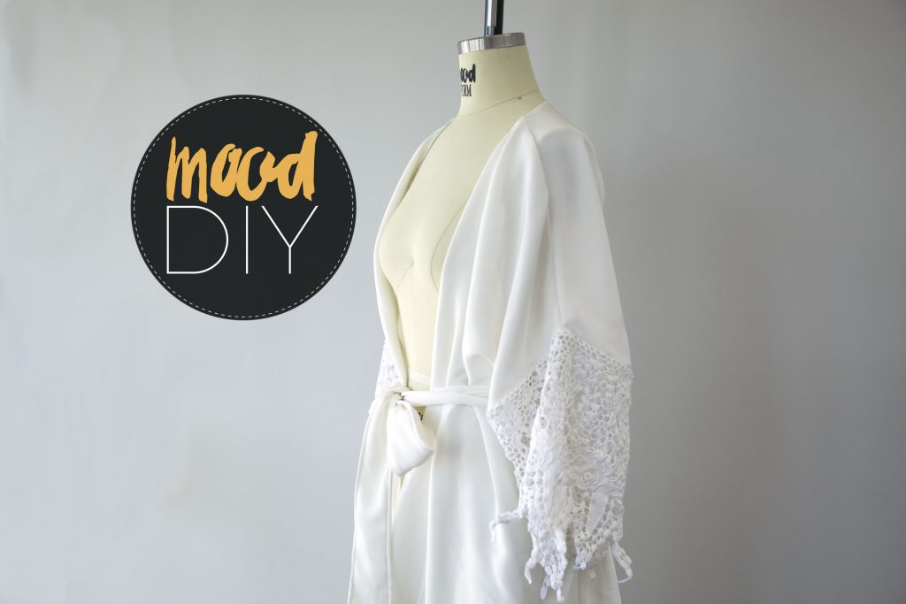 Mood Diy How To Draft A Bridal Robe Pattern Mood Sewciety