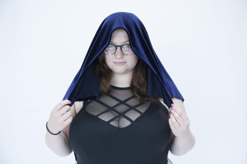 Fabric on my head