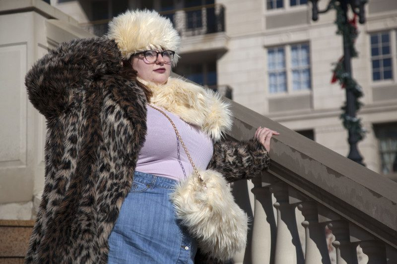 Fur on fur is the next big trend, I promise
