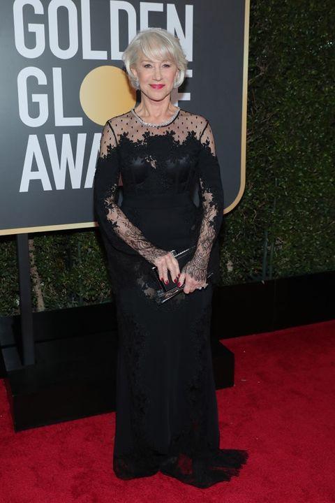 Helen Mirran wearing Zuhair Murad