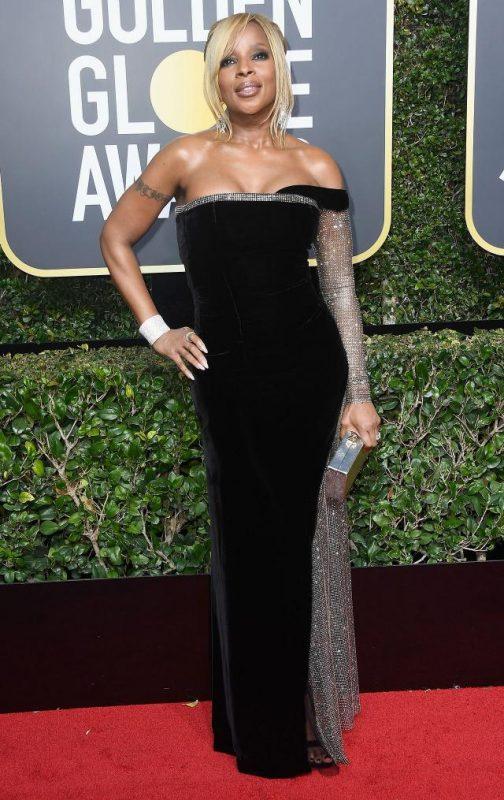 Mary J Blige wearing Alberto Ferretti