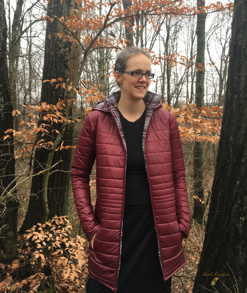 DIY Puffer Jacket tutorial by Skirt Fixation