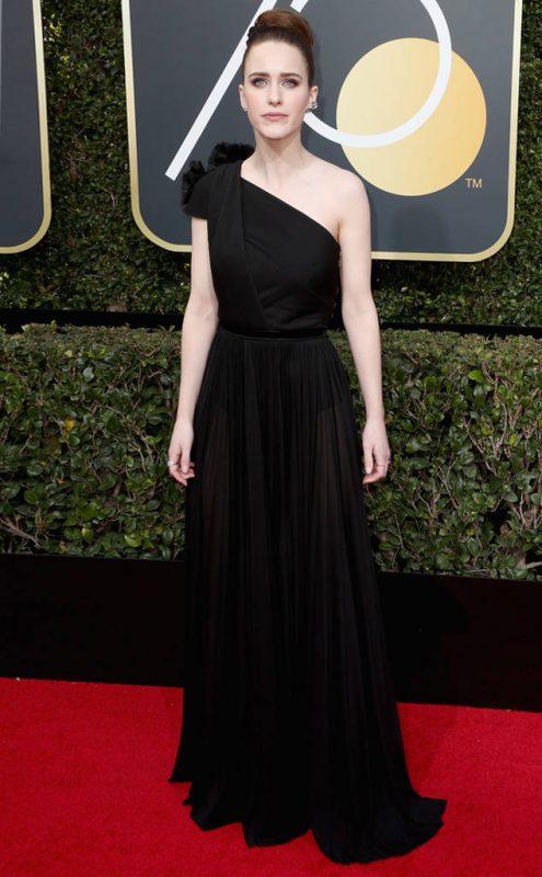 Rachel Brosnahan wearing Vionnet