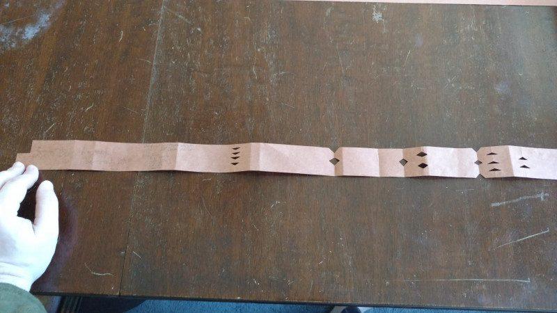 18th century tape measure