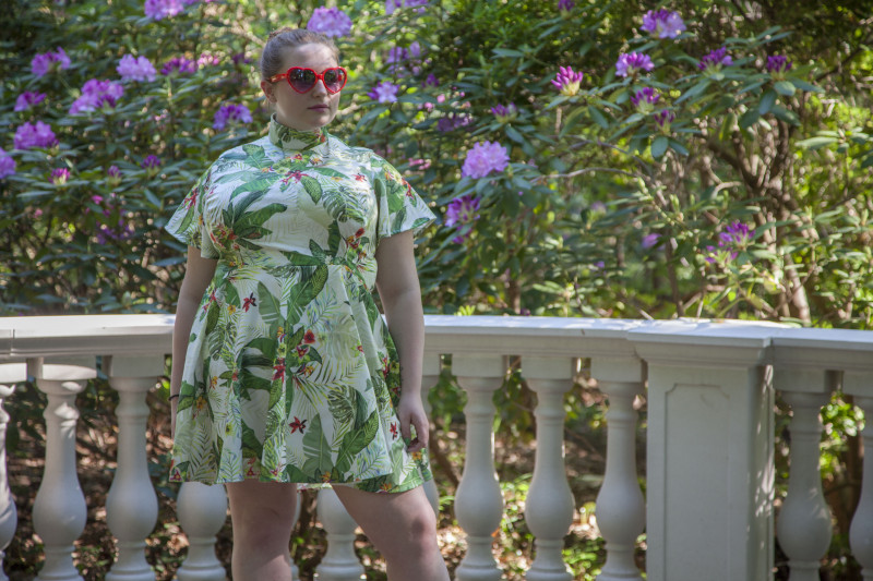 The Orchid Dress