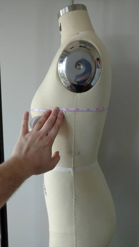 chest circumference side