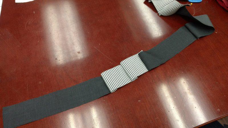 Center backs together, then sew on the side-backs, then the side-fronts, then the fronts.