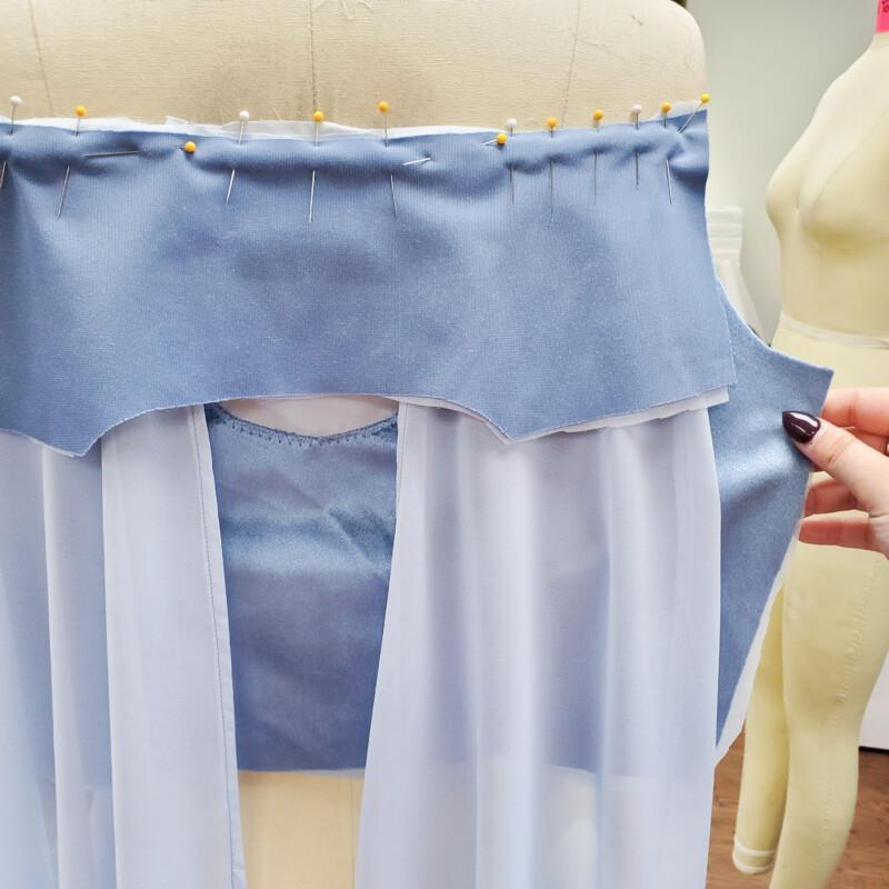free elsa sewing pattern