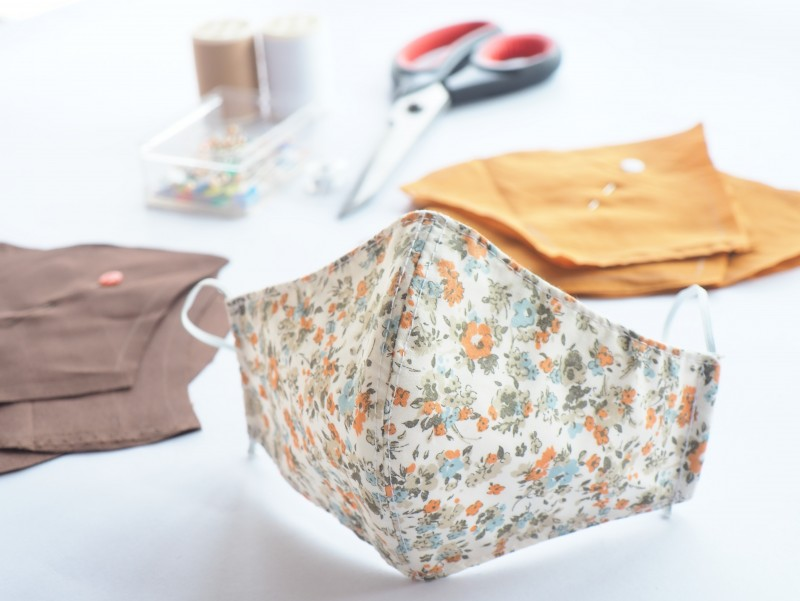 face mask sewing