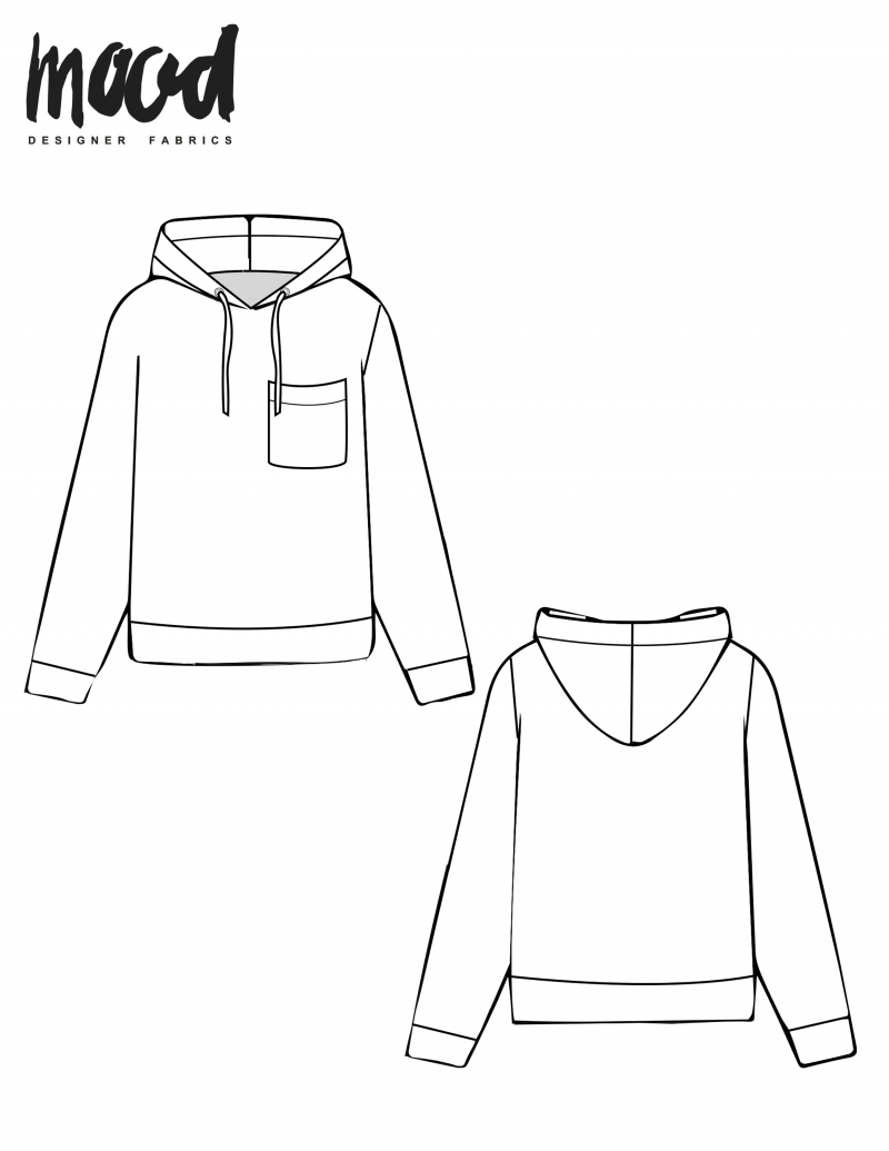The Boxwood Hoodie Free Sewing Pattern Mood Sewciety