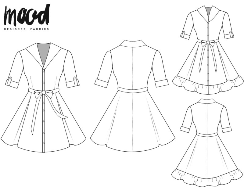 Free Mother Daughter Dress Sewing Pattern