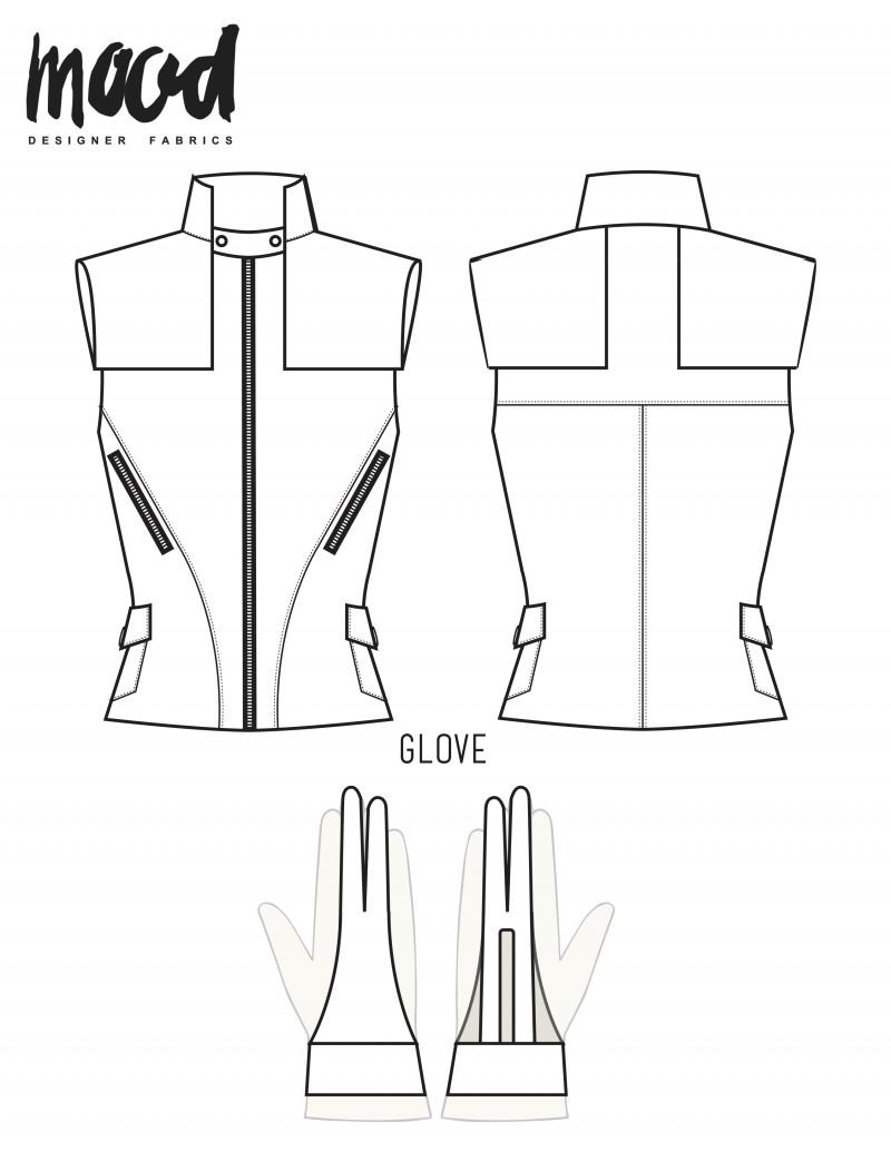 free Hawkeye cosplay pattern
