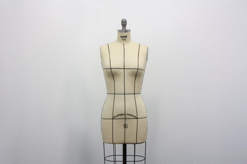 1 Intro To Draping Dress Form Muslin Basics Mood Sewciety