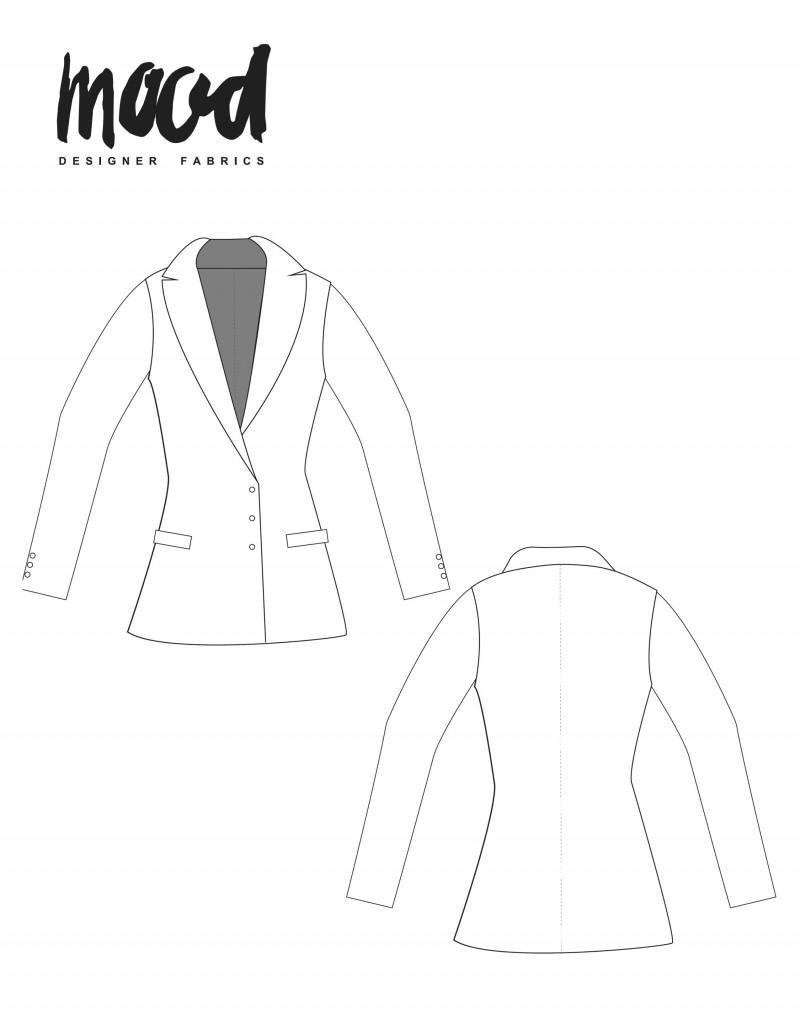 blazer sewing pattern