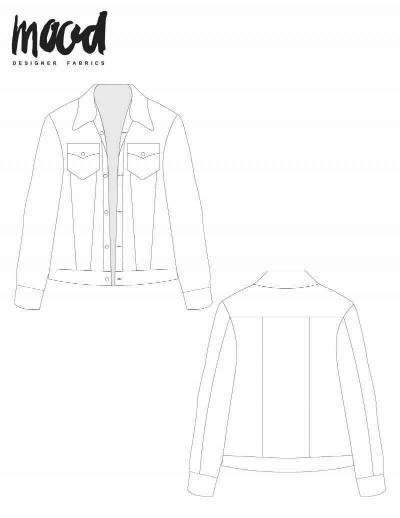 free denim jacket sewing pattern