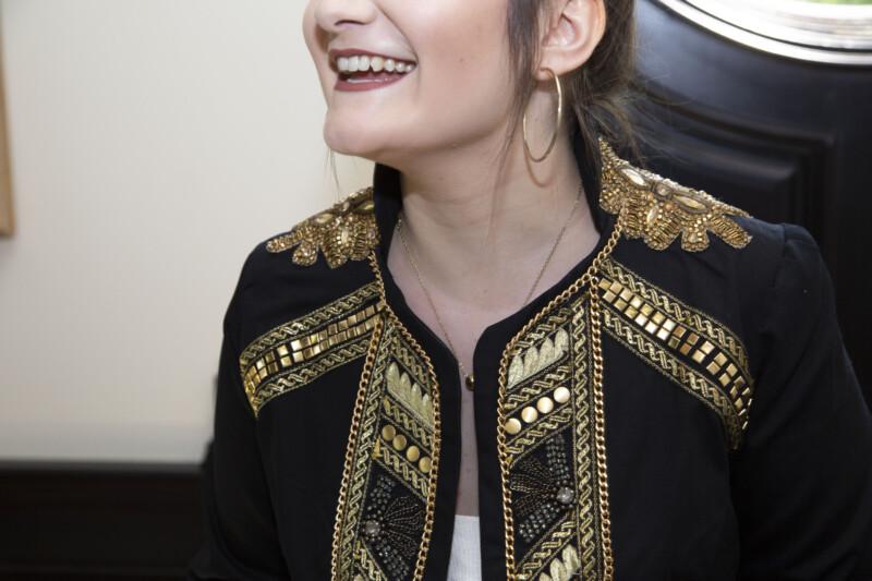 Free jacket sewing pattern, free pattern, trim, embellishment, applique,