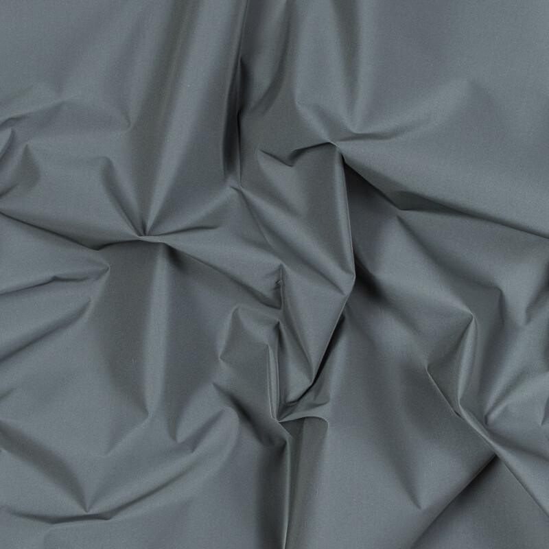 Silver Cotton-Backed Reflective Fabric