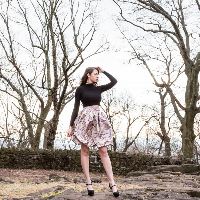 free bubble skirt sewing pattern
