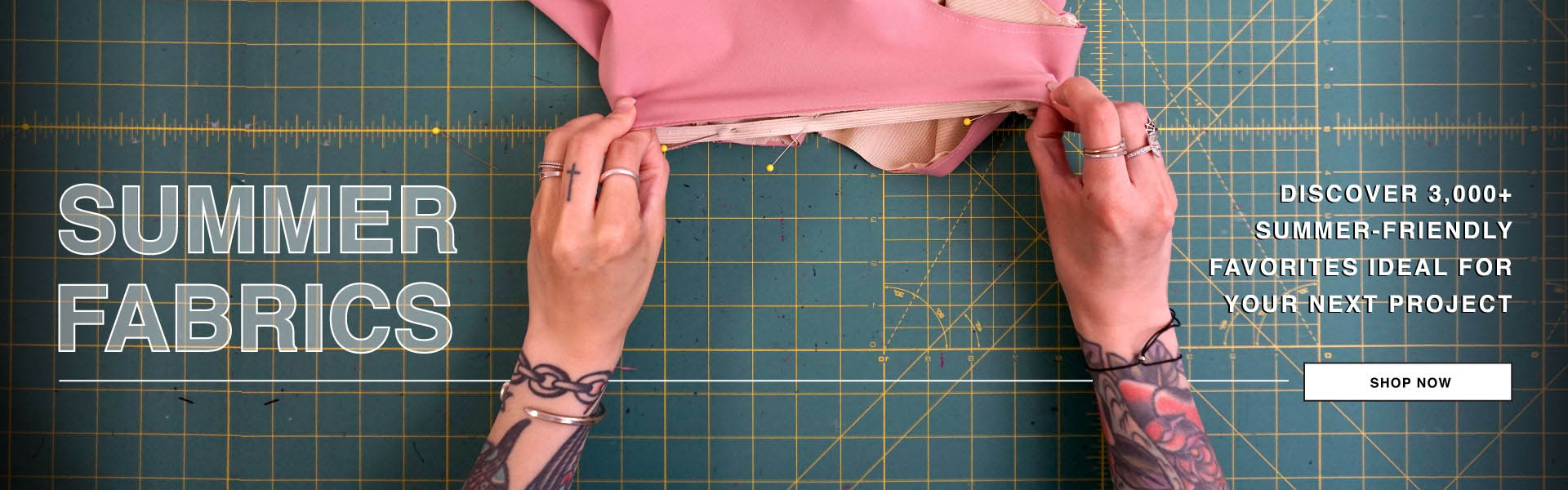 Shop Summer Weight Fabrics for Warm Weather Projects Today!