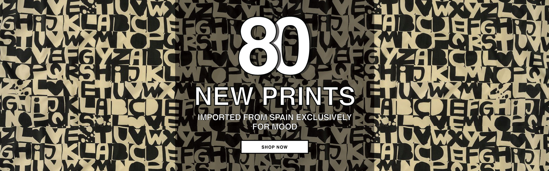 Explore 80 New Mood Exclusive Prints Imported from Spain! Shop Now!