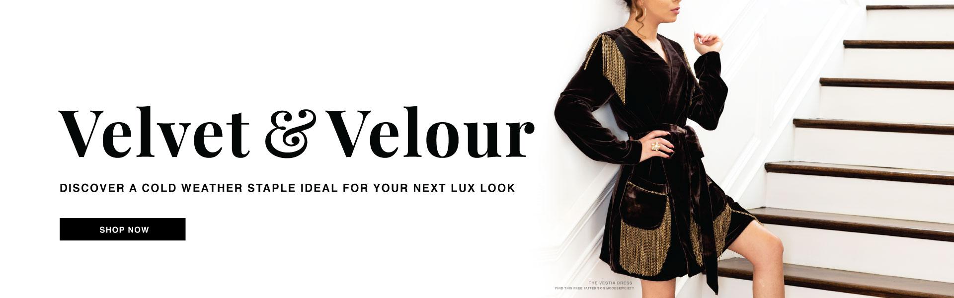 Shop Velvet Fabric and Velour Fabric