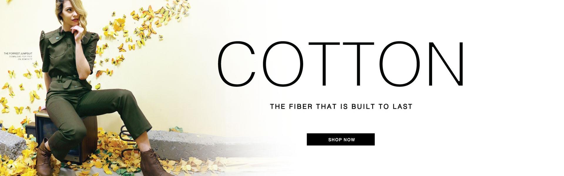 Premium Cotton Fabrics - Shop Now!