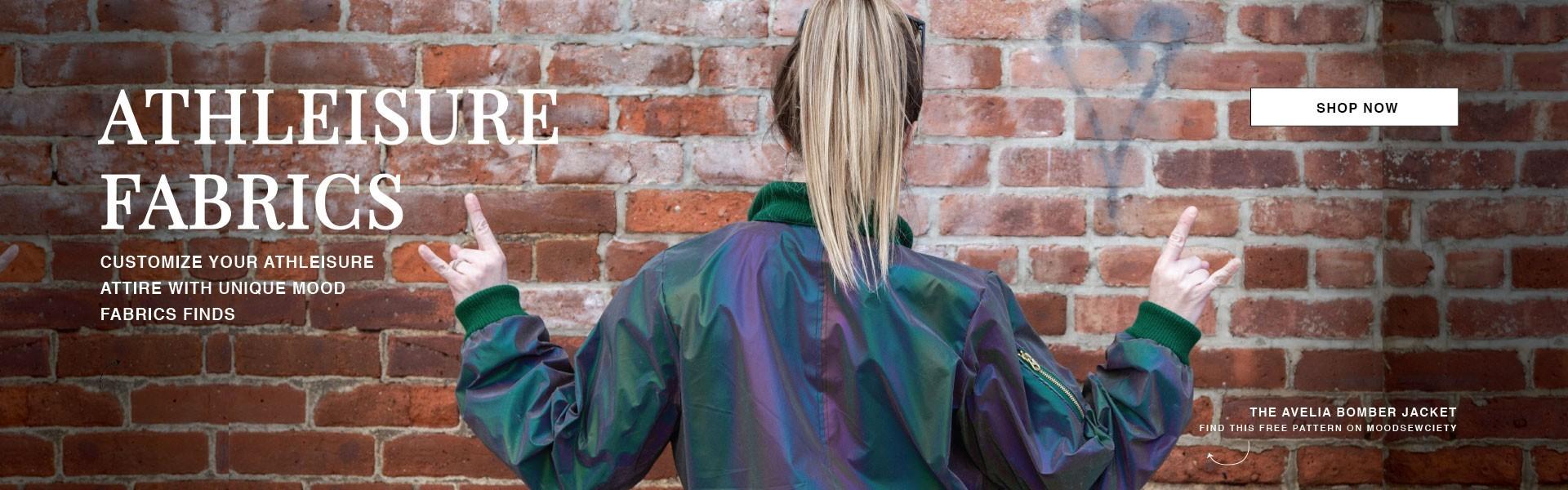 Shop Athleisure Fashion Fabrics
