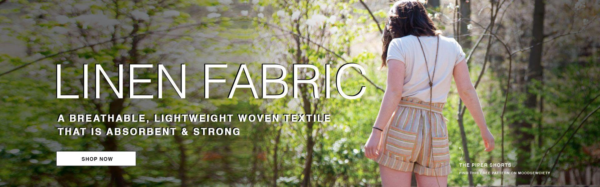 Premium Linen Fabrics - Shop Now!
