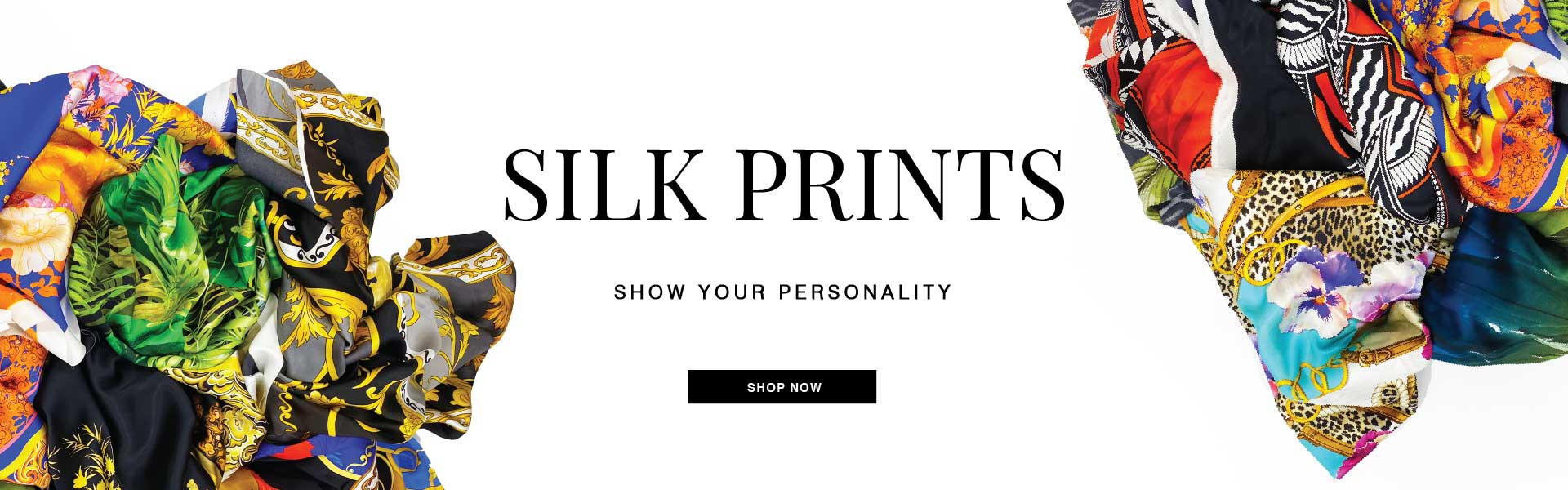 Printed Silk Fabrics - Shop Now!
