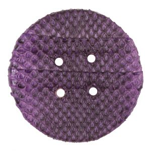 61mm Royal Lilac Snakeskin Covered Button