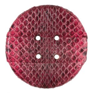 61mm Formula One Snakeskin Covered Button