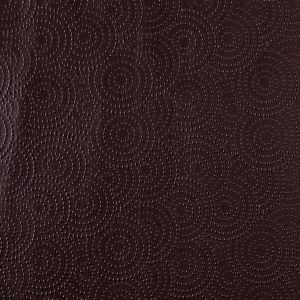 Chocolate Brown Dotted Circles Vinyl